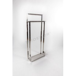 CLOTHES RACK FOR BELTS 1 SIDE 2 HEIGHTS