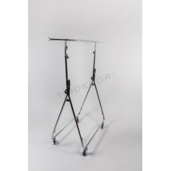 Clothes rack foldable for representative of clothing