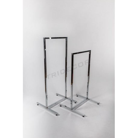Coat rack simple small square tube