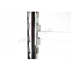 006001 Système de fermeture à glissière pour les magasins 240 cm Tridecor