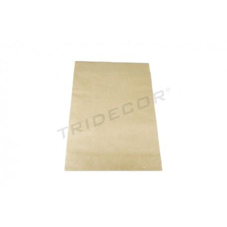 Sobre de papel fuerte havana 39x30+12cm 50 unidades