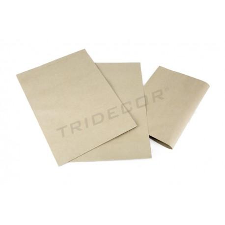 Envelope de papel forte havana 30x25+9cm 50 unidades