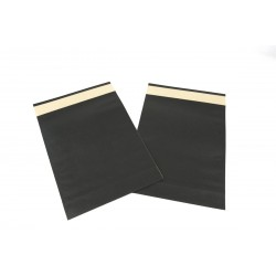 Paper envelopes, black 39x30+12 cm 50 units