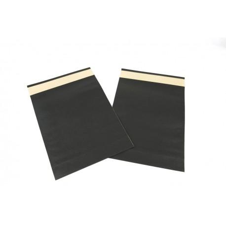 Paper envelopes, black 39x30+12 cm 50 units