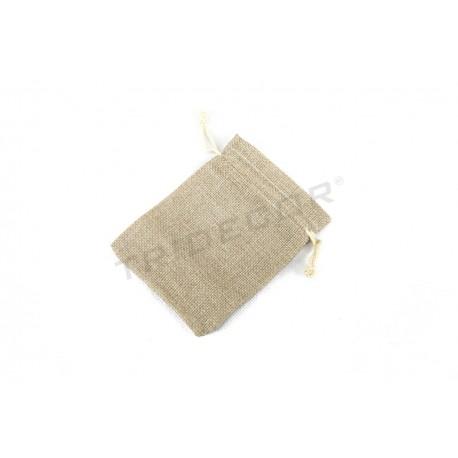 Bolsa tela de saco 12x9 cm. 20 uds. tridecor