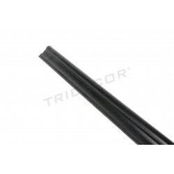 045116 Cornice mdf black panel blade 240 cm Tridecor