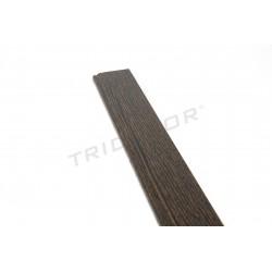 Rodapie mdf wenge panel blade 240 cm, tridecor
