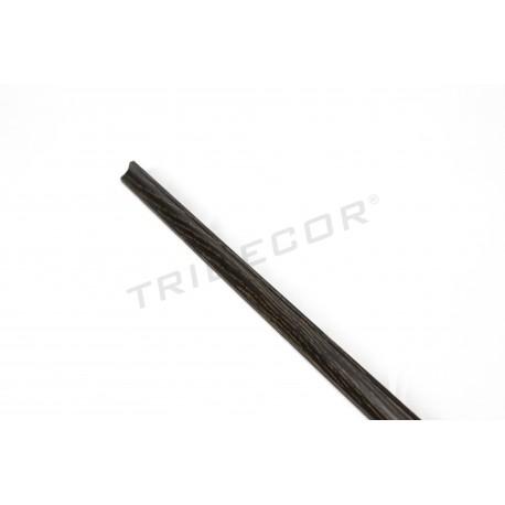 Mediacaña mdf wenge panel blade 240 cm