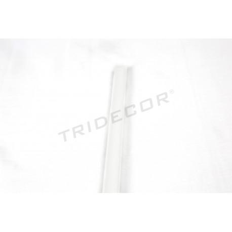 Mediacaña mdf white panel blade 240 cm