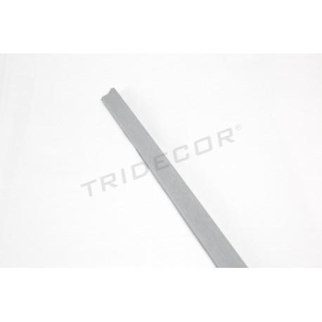 Mediacaña mdf gris per tauler de fulla 240 cm