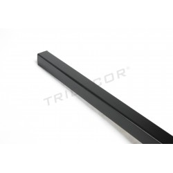 Guardavivo mdf black panel blade 240 cm Tridecor