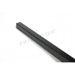 Guardavivo mdf negre tauler de fulla 240 cm Tridecor