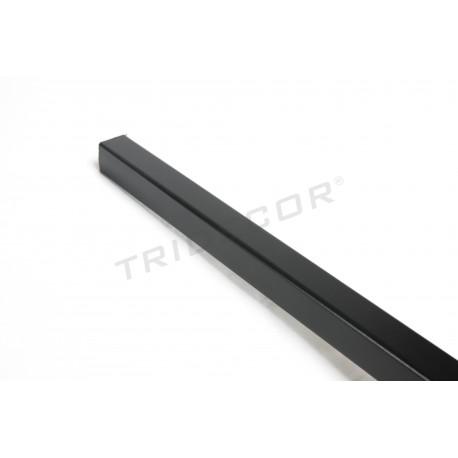 Guardavivo mdf negro panel de lámina 240 cm Tridecor