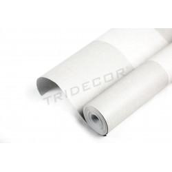Le papier peint gris à motifs de larges bandes de 10 m