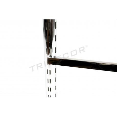006130 Barra perchero para exposición de productos. Tridecor