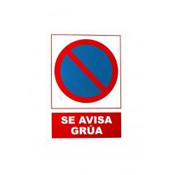 Il Poster è stato avvertito gru 30x21cm
