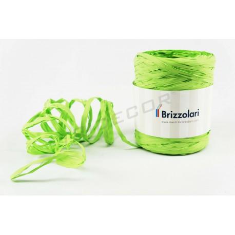 带纤维合成绿色的开心果200米