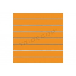 Panel lama matt orange 120x120 cm Tridecor