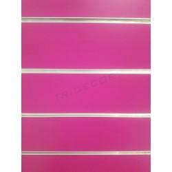 Panel de lamas fucsia 120x120 cm. Tridecor
