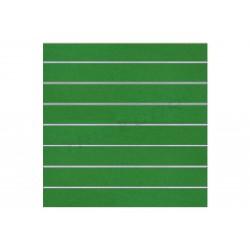 PANEL DE LAMAS VERDE 120X120CM 7.5 GUIAS 2 UDS