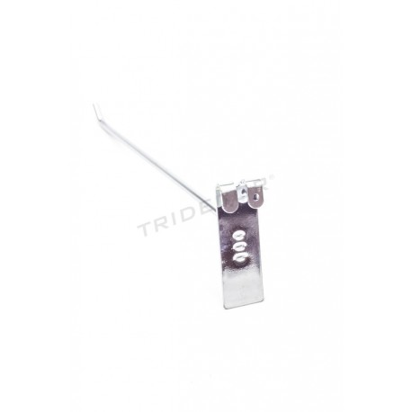 001014 Gancho colgador para reja expositora 30cm 6mm. Tridecor
