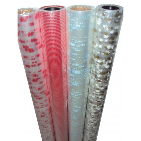 滚玻璃纸是透明的和冲压