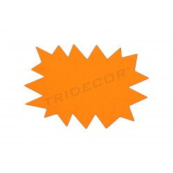 海报提供。 黄色和橙色。 可逆转的。 24x16厘米