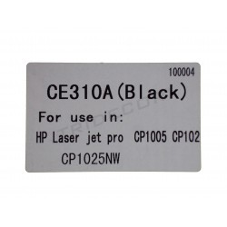 TONER CE310A. MODEL HP LASER JET CP1005. BLACK