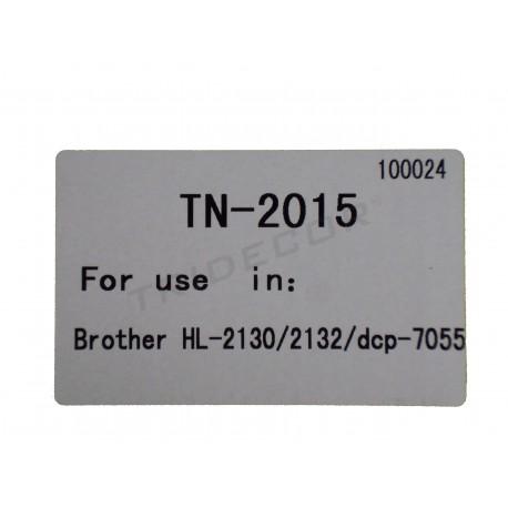 TÒNER TN-2015. MODEL BROTHER HL-2130 IMPRESSORA LÀSER. NEGRE
