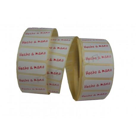 Adhesive label, hand-Made. tridecor