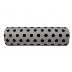Regal de paper en blanc, estampats punts negres 31cm