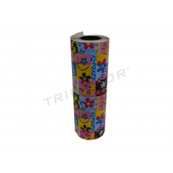 WRAPPING PAPER FLORAL PRINT 31 CM