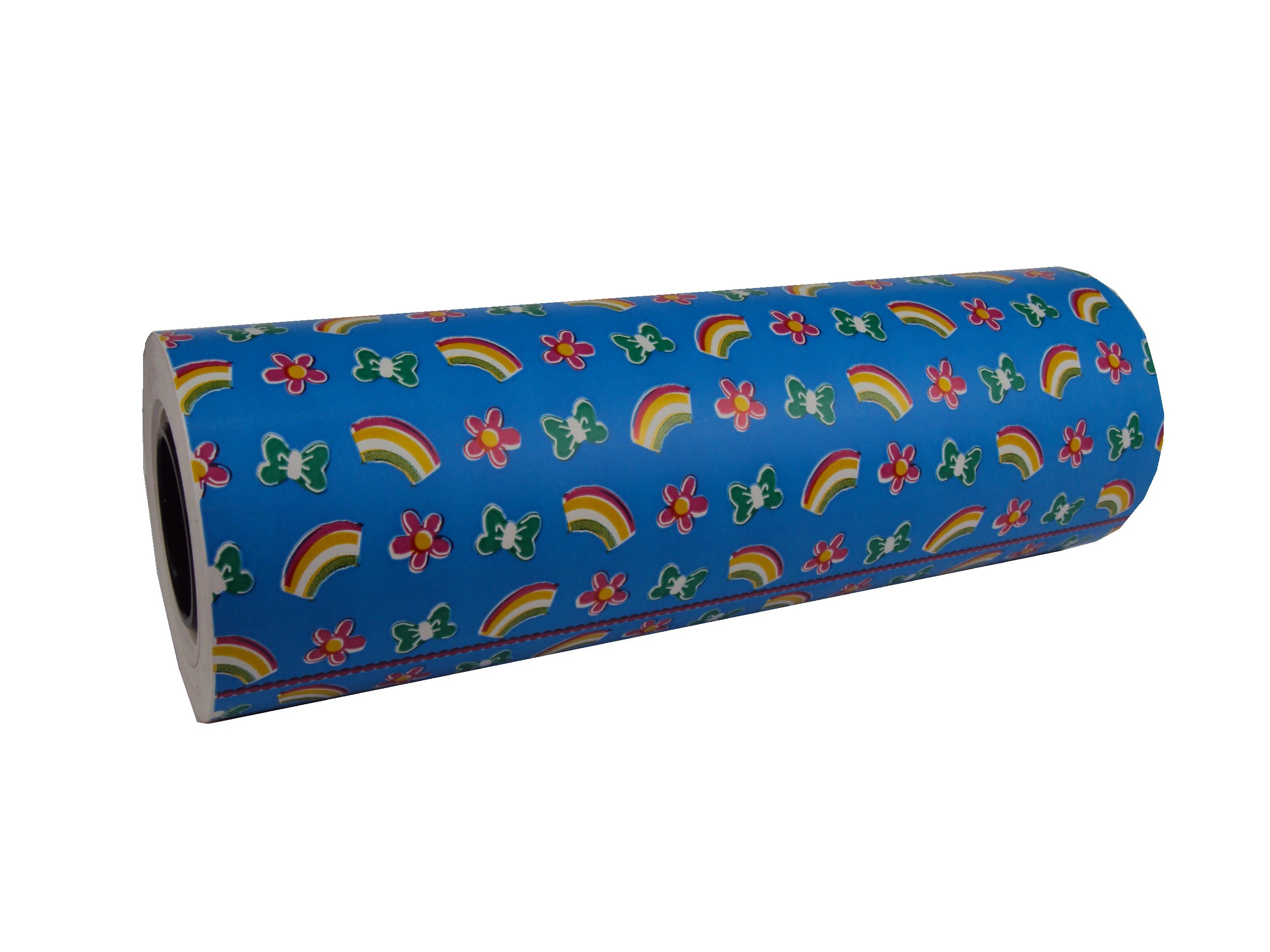 Gift Wrapping Paper Blue Print Child 31cm Tridecor