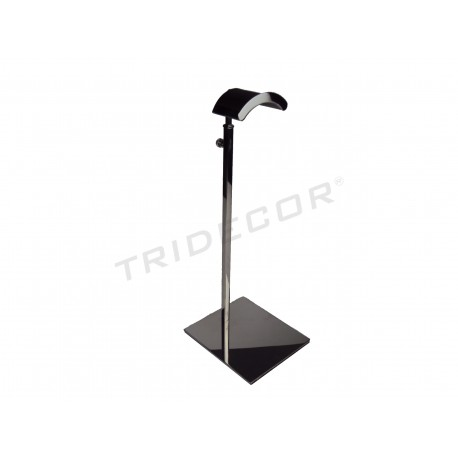 Display unit for bags stainless steel adjustable