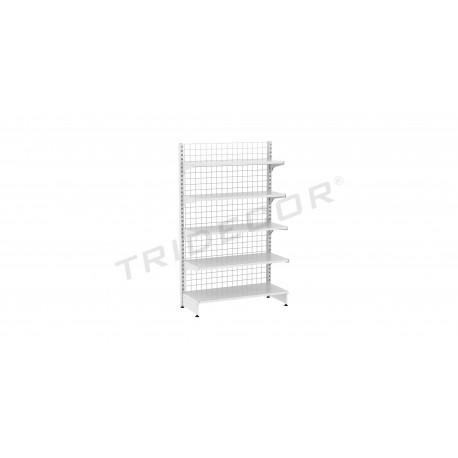 Shelf metal 120x200cm. 1 face, tridecor