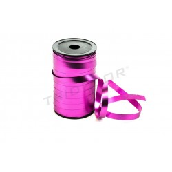 TAPE LOOP, POLIPROPILENE FUCSIA METALLIZZATO 100 MTS