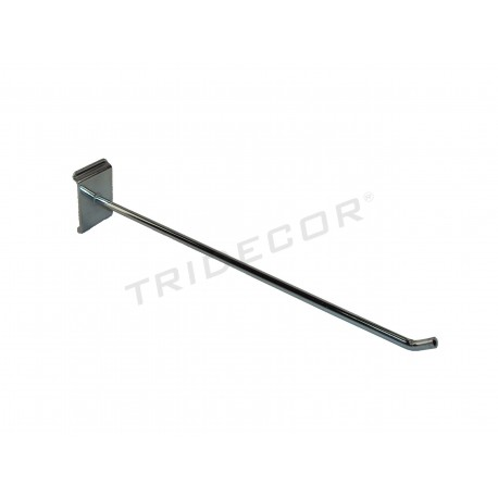 001622 Gancho colgador para lama estrecha 35 cm. Tridecor