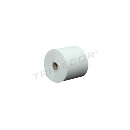 Thermal paper 57x45mm 10 rolls, tridecor