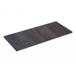 Prateleira de madeira oak escuro 90x40cm 19mm