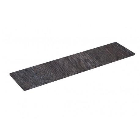Balda de madera oak oscuro 120x30cm 19mm