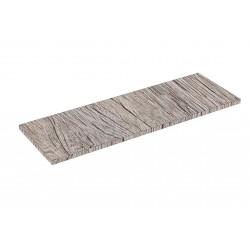 Scaffale in legno di rovere O 90x30cm 19mm
