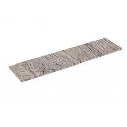 Scaffale in legno di Rovere 0 120x30cm 19mm