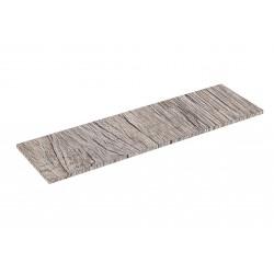 Scaffale in legno di Rovere 0 120x35cm 19mm
