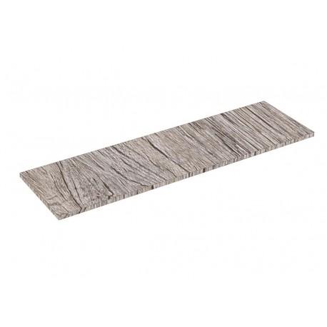 Balda de madera Roble 0 120x35cm 19mm