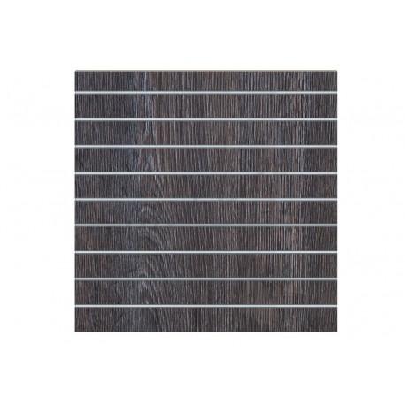 Panel lamas oak dark 9.5 guides 120x120cm. Tridecor