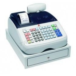 Cash register, Olivetti, ECR 6800, tridecor