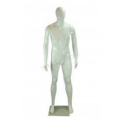 Mannequin man fiber glass white color