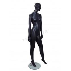 DUMMY WOMAN WITH FACTIONS, MATTE GREY