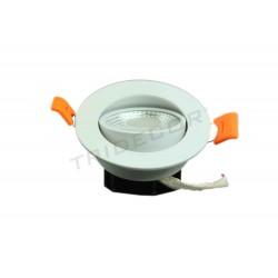 LED PEQUEÑO EMPOTRABLE AC100-240V 50HZ 5W 3000K 350LM