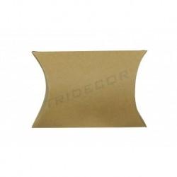 Sobres de papel para agasallos de cor habana 12x11x3.6cm de 50 unidades